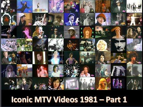 Iconic MTV Videos 1981 - Part 1