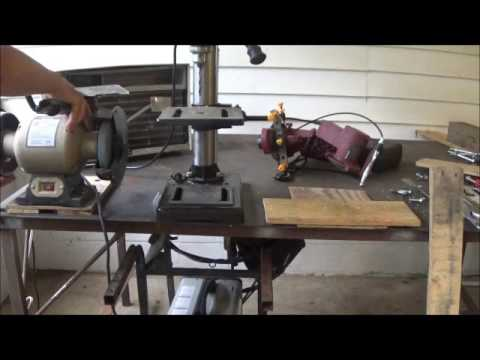 Mounting Detachable Tools On Workbenches