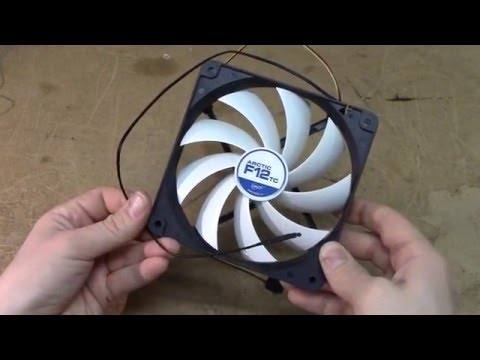 Arctic F12TC temperature controlled 120 mm fan - Technical review