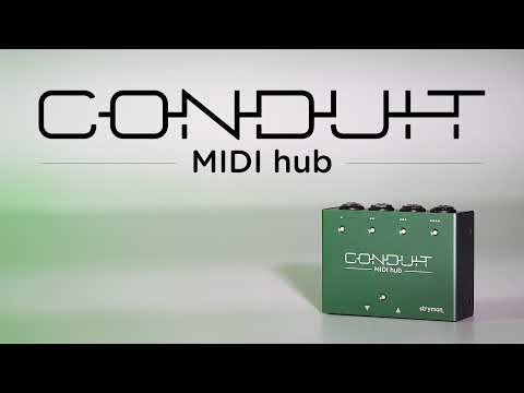 Strymon Conduit – MIDI Hub – Intro