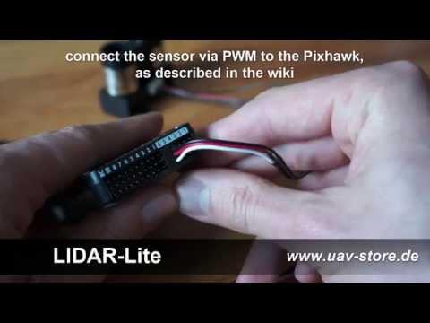 Pixhawk & Lidar Lite sensor - demonstration and set up