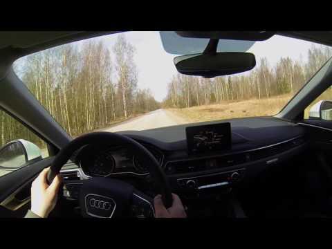 Audi A4 Allroad Quattro 2017 POV Driven Hard