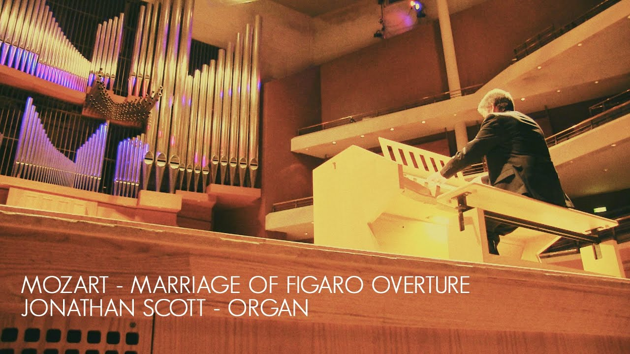 MOZART - MARRIAGE OF FIGARO 'OVERTURE' – ORGAN SOLO (ARR. JONATHAN SCOTT)