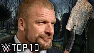 WWE Top 10 Wrestlers Triple H Buried (Worst Booking Decisions)