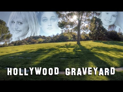 FAMOUS GRAVE TOUR  Forest Lawn Hollywood 3 Brittany Murphy, Gene Autry, etc.