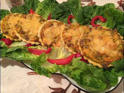#quiche-aux-légumes-et-viandes-hachée/كيش-بالخضر-و-الكفتة-خفيف-و-لذيذ😍