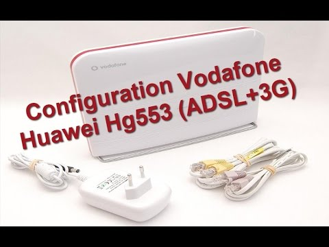 EP-06 Configuration Router vodafone huawei hg553 (adsl+3G) | Huawei hg553 تحديث و إعداد راوتر