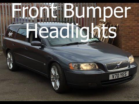 2008 Volvo s60 passenger headlight replacement | Doovi