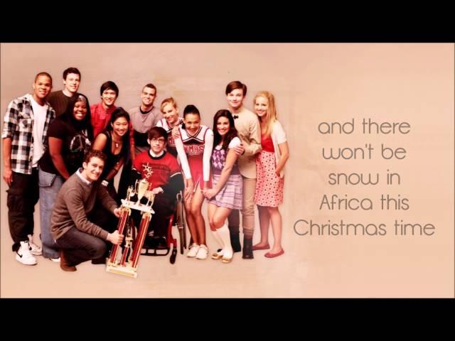 Do They Know Its Christmas Lyrics.Do They Know It S Christmas Lyrics Letra Glee Cast