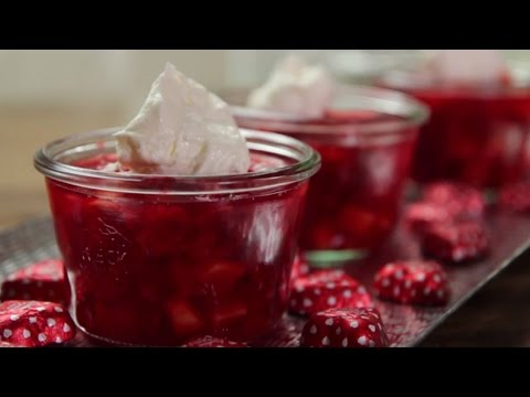 How to Make Strawberry Jell-O Salad | Valentine's Day Recipes | Allrecipes.com