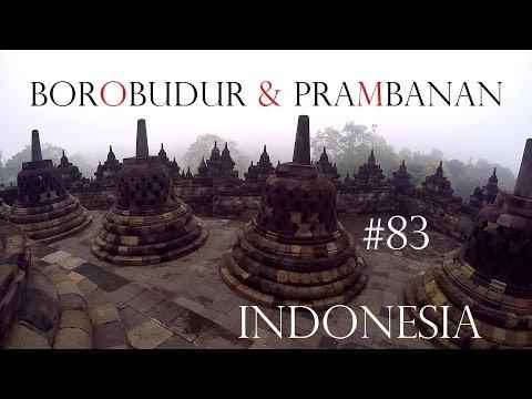 BOROBUDUR TEMPLE & PRAMBANAN INDONESIA - World travel Vlog#83 - Yogyakarta Java Adventure Weltreise