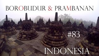 BOROBUDUR TEMPLE & PRAMBANAN INDONESIA - World travel Vlog#83 - Yogyakarta Java Adventure Weltreise