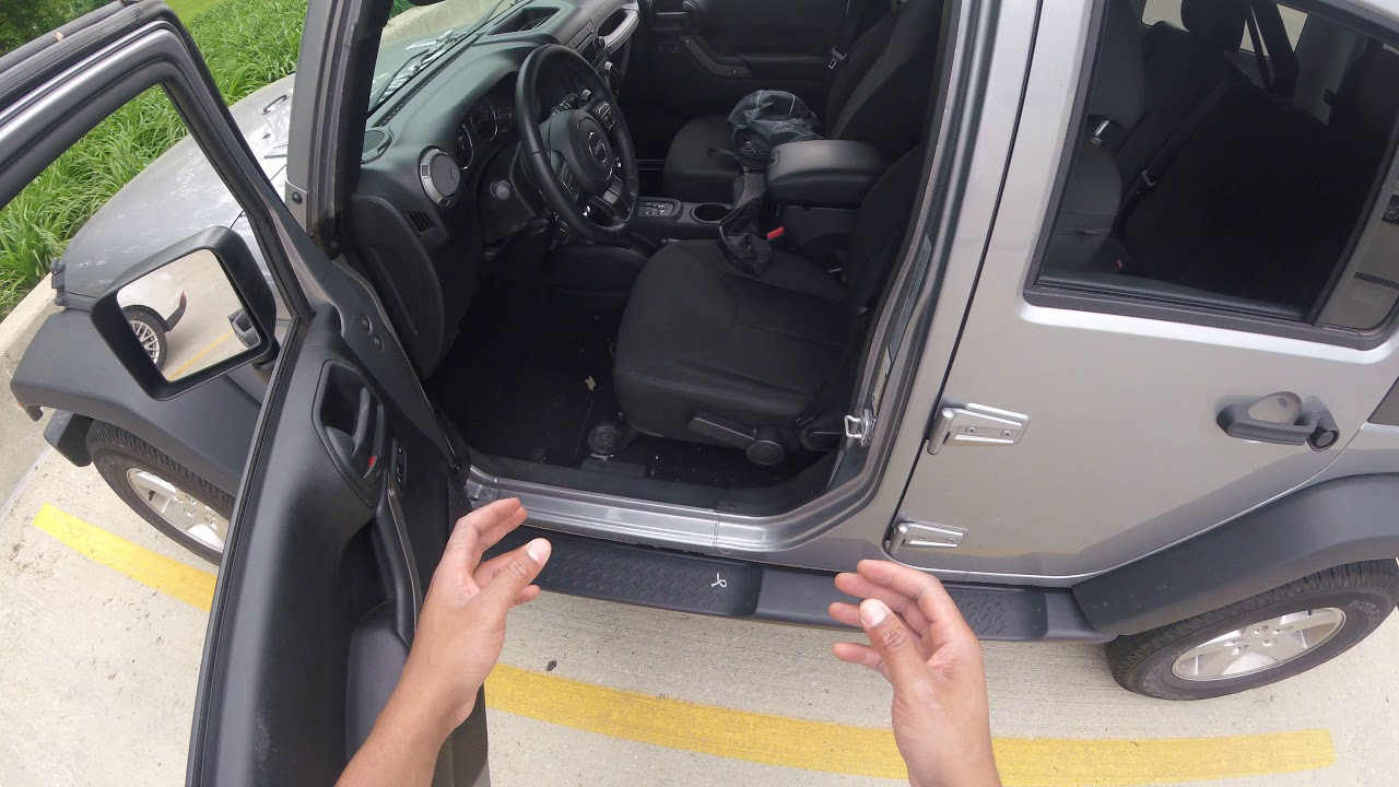 Jeep Wrangler Seat Adjusting Youtube