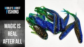 Popular Colors: OKEECHOBEE MAGIC..Making Soft Plastic Lures