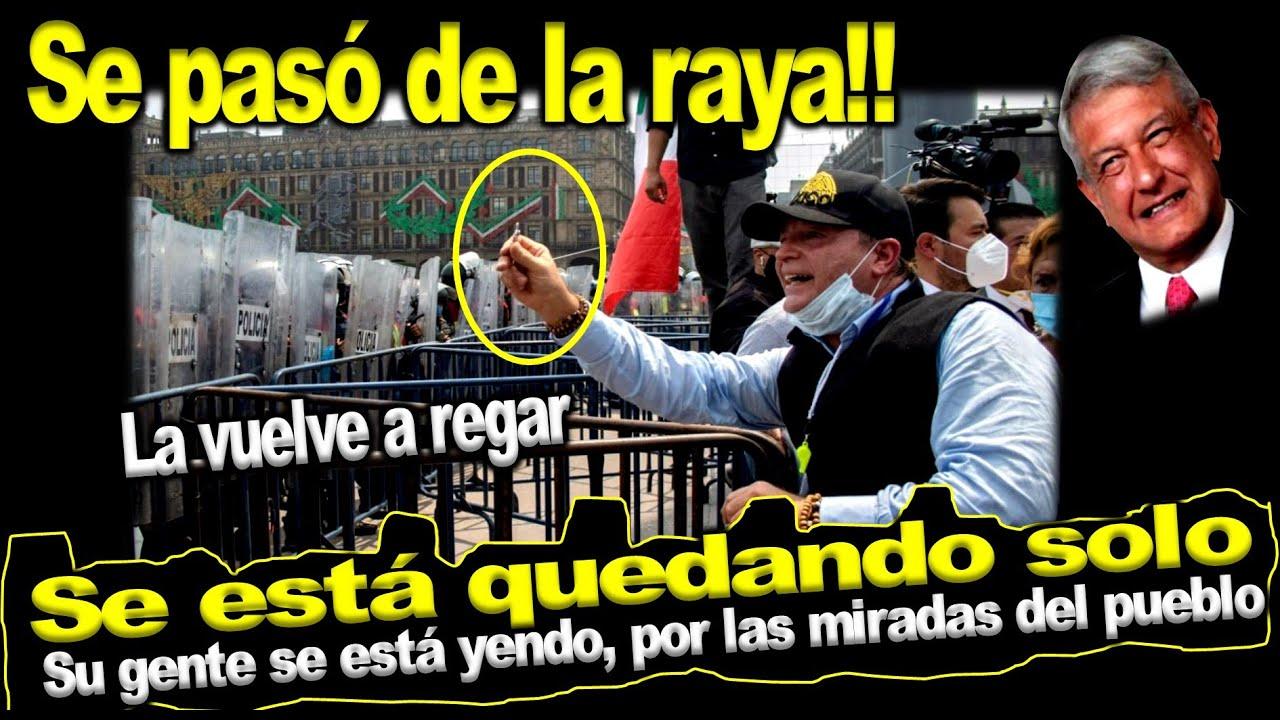 """Increíble pero cierto!! Gilberto Lozano y su gente """"revientaron"""", no imaginaban que era un plantón"""
