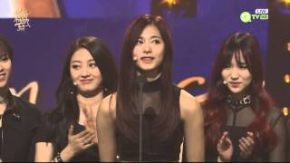 [ENG sub]160121 TWICE @ The 30th Golden Disk Awards Mina & Tzuyu part 1080p