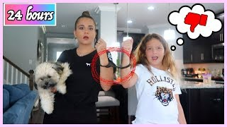 HANDCUFFED TO MY MOM FOR 24 HOURS | SISTER FOREVER