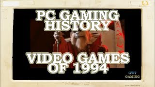 PC Gaming History - Video games of 1994 - The Spread of CD-ROM