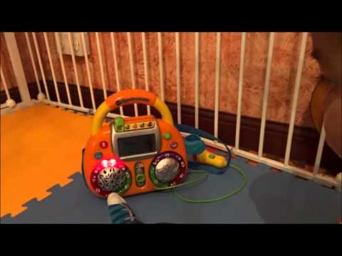 Vtech Sing with Me KARAOKE MACHINE Sing along toy