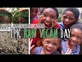 Raw Food Our Vegan Family of 7 Ate Today (Life in Atlanta Vlog) | What Our Kids Eat
