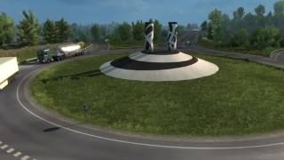 Euro Truck Simulator 2: Vive la France! — трейлер