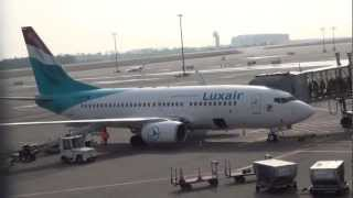 Aeroporto / Aéroport de Luxembourg Findel. (HD) Partie 2/3