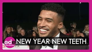 NTAs 2020: Love Island's Michael Griffiths shows of his new teeth!