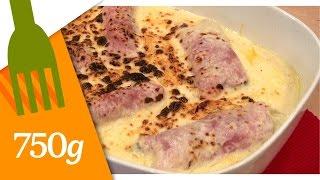 Endives au jambon gratinées - 750 Grammes