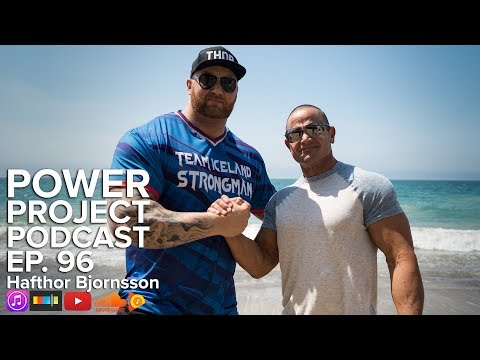 "Mark Bell's Power Project EP. 96 - Hafthor ""The Mountain"" Bjornsson"