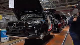 Tillverkning vid Volvos fabrik i Gent, Belgien