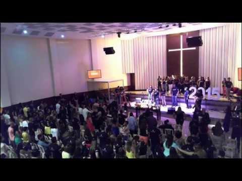 31/12/2014 - Culto da virada na AD Vida Abundante