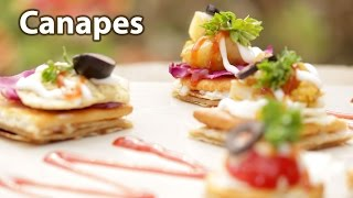 Cute & Tasty Canapes
