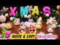 5 QUICK and EASY Disney Tsum Tsum Christmas Tree Decorations