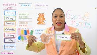 Monday - Preschool Circle Time - Learn at Home - Monday 4/6
