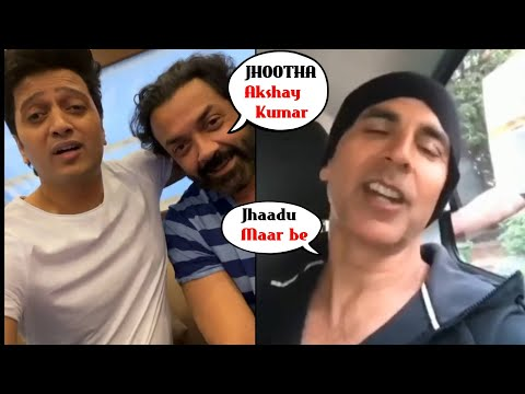 Bala Akshay Kumar GRILLED Bobby Deol & Riteish Deshmukh BIG TIME | House Full 4 Bhoot Mp3