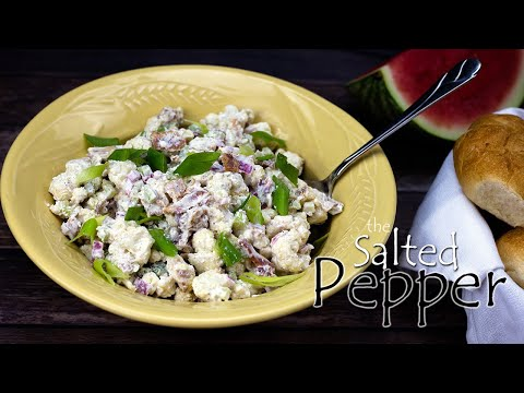 cauliflower-'potato'-salad-~-ninja-foodi-recipe