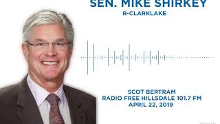 Sen. Shirkey joins Radio Free Hillsdale to discuss the issues of the day