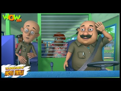 Motu Patlu New Episode | Cartoons | Kids TV Shows | Motu Patlu The Bus Driver | Wow Kidz from YouTube · Duration:  11 minutes 17 seconds