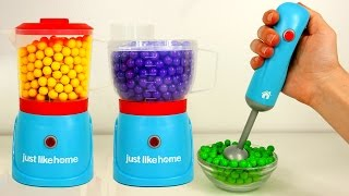 Kitchen Appliance Playset Blender Just Like Home Candy and Toys for Children