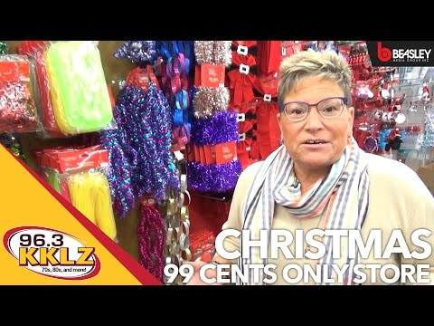 Christmas at the 99 Cents Only Store