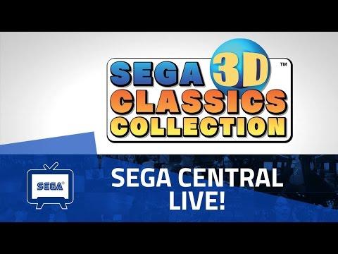 SEGA Central Live | SEGA 3D Classics Collection