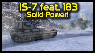 ► World of Tanks IS-7 & FV215b 183 Gameplay: Solid AP Power Welcoming Party!
