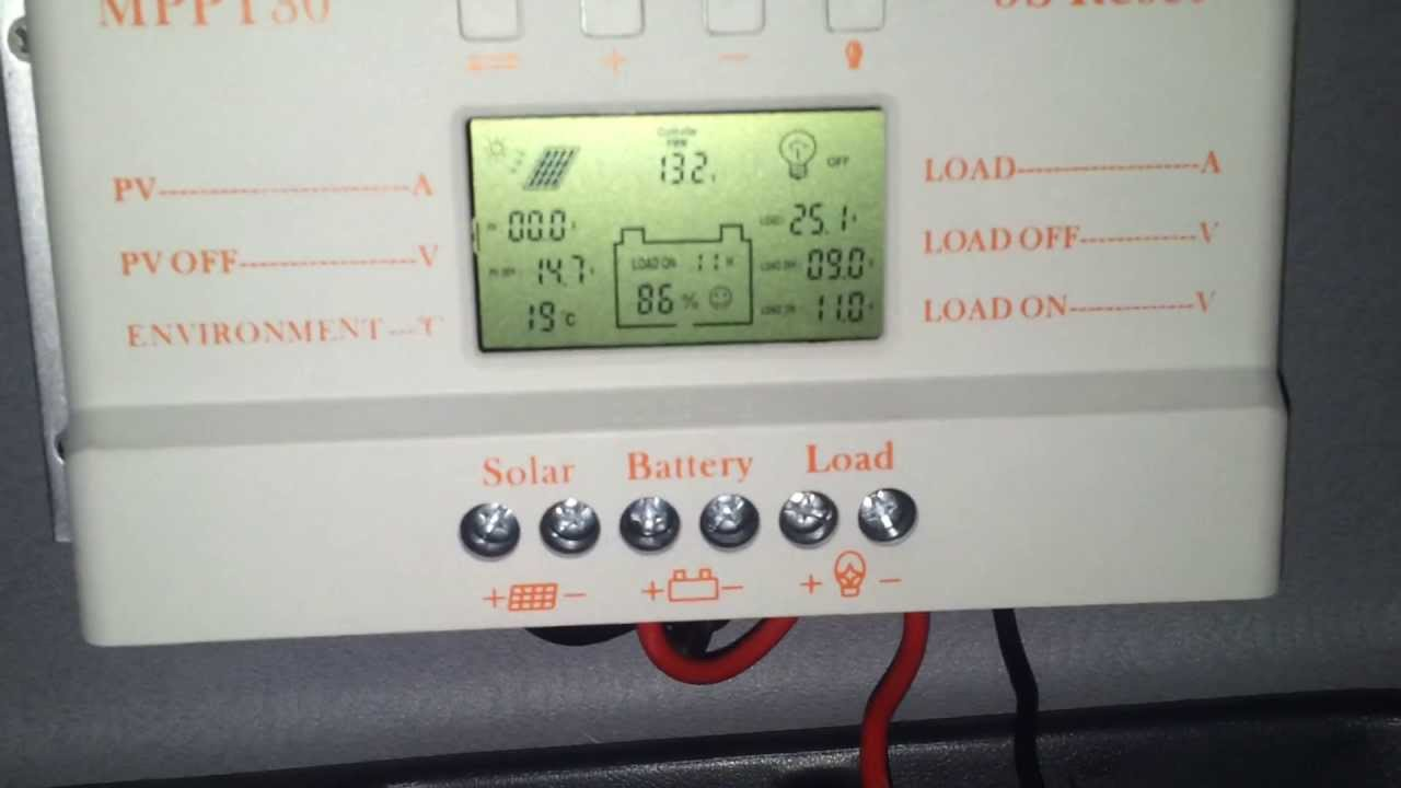 Lcd 30a Mppt Solar Panel Regulator Charge Controller 12v 24v 380w Details About Pwm 30amp 760w With Usb Youtube