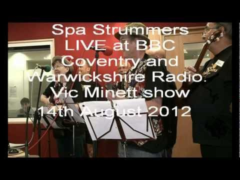 Spa Strummers ukulele group play LIVE on BBC radio