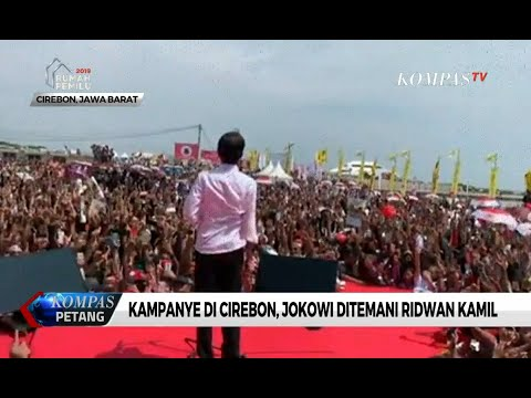 Ambil Cuti, Ridwan Kamil Temani Jokowi Kampanye di Cirebon