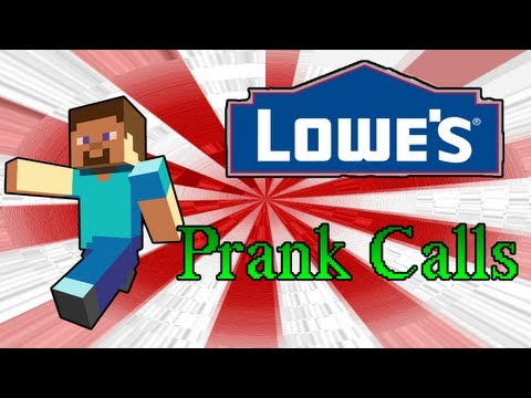Prank Calls Asking For Minecraft Items at Lowe