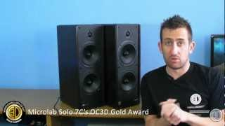 microlab Solo 7C 110w Active Stereo Speaker Set Review