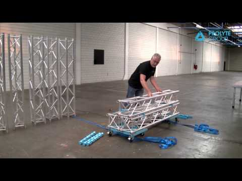 Prolyte Truss carrier and Truss dolly