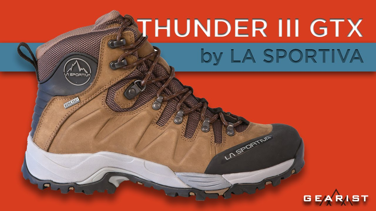 99ce8d5acf8 LA SPORTIVA THUNDER III GTX HIKING BOOT REVIEW - Gearist.com