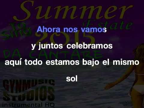 El Mismo Sol  Karaoke Lirycs Alvaro Soler by Gynmusic Studios
